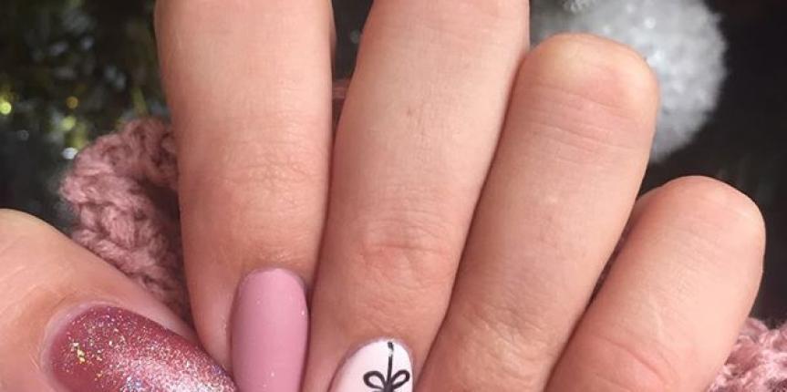 Pink Gel Nails Shopaholicapp